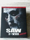 SAW 1 - 8 DEFINITIVE COLLECTION BLURAY(OVP)UNRATED