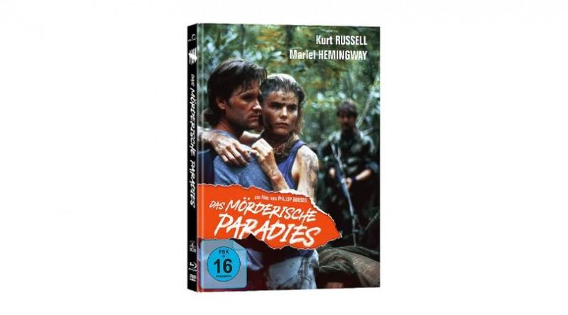 Das Mörderische Paradies - DVD/BD Mediabook A OVP