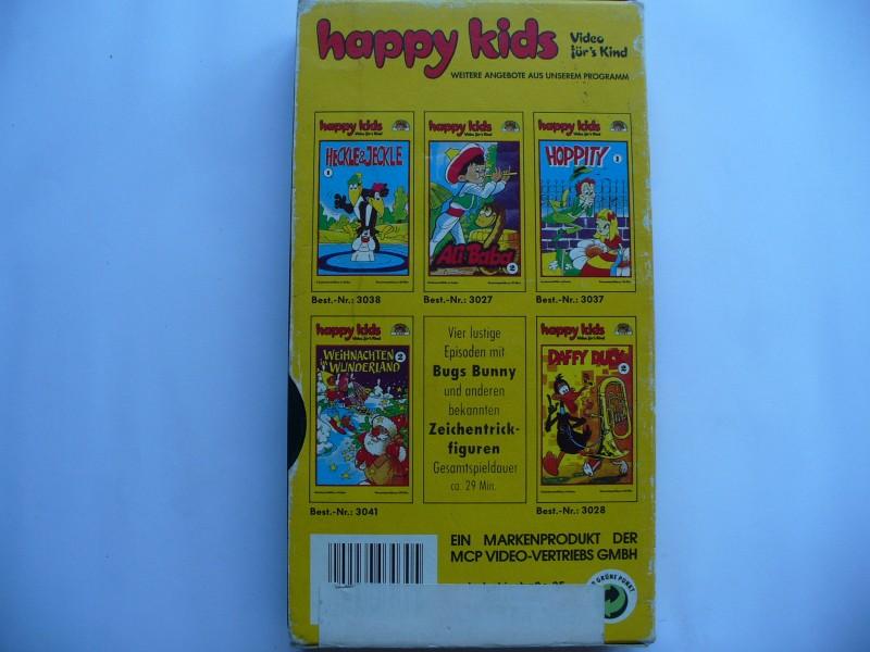 Bugs Bunny und seine Freunde 4  ...  VHS ... Pappschuber !!