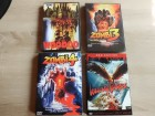 4 DVDs Woodoo, Zombi 3, Zombi 4, Killing Birds Uncut