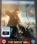 Great Wall, The 2 Disc STEELBOOK DEUTSCH 3D & 2D mit.UV ovp