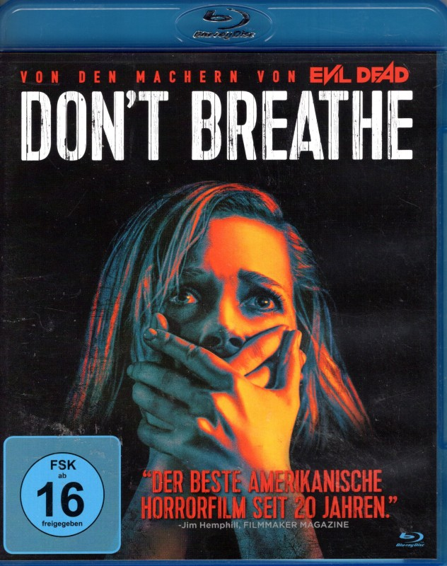 DON´T BREATHE Blu-ray- genialer Mystery Haus Thriller Horror