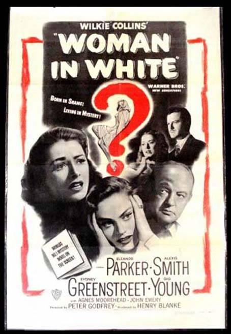 Das Geheimnis der Frau in Weiß  Krimi/Drama 1948
