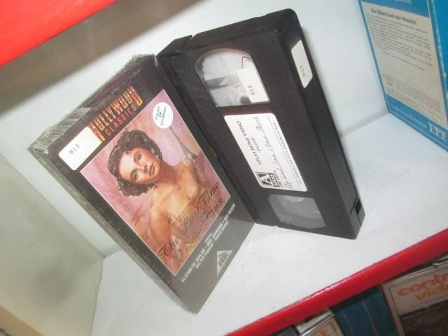 VHS - The Last Time I Saw Paris - Elizabeth Taylor - PAPPE