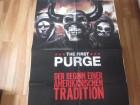 The First Purge  - Poster A1 Neu