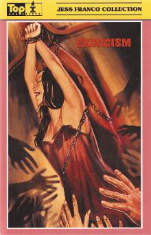 EXORCISM - 1 BLU-RAY + 3 DVDs - JESS FRANCO - UNCUT