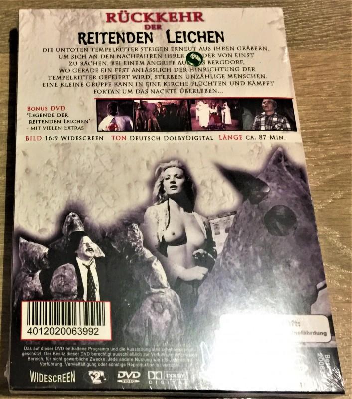 Hexensabbat (1977) UNCUT Blu Ray HARDBOX ösi ovp