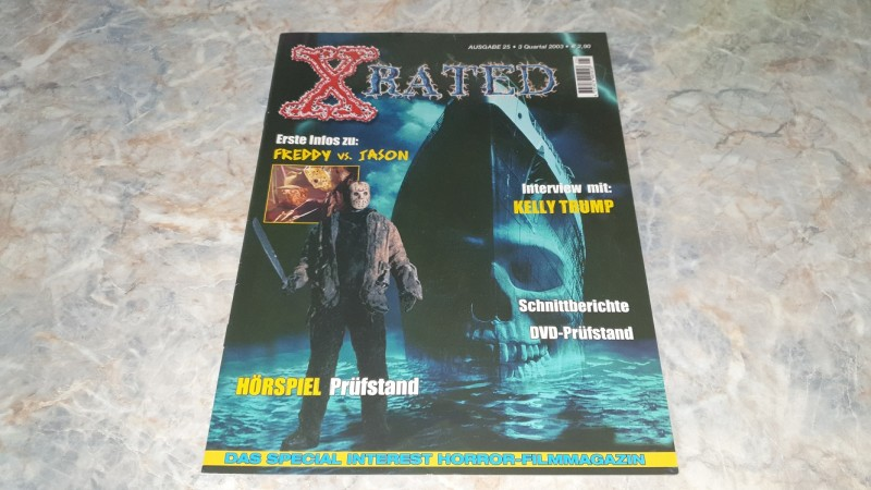 X-RATED MAGAZIN / AUSGABE 25