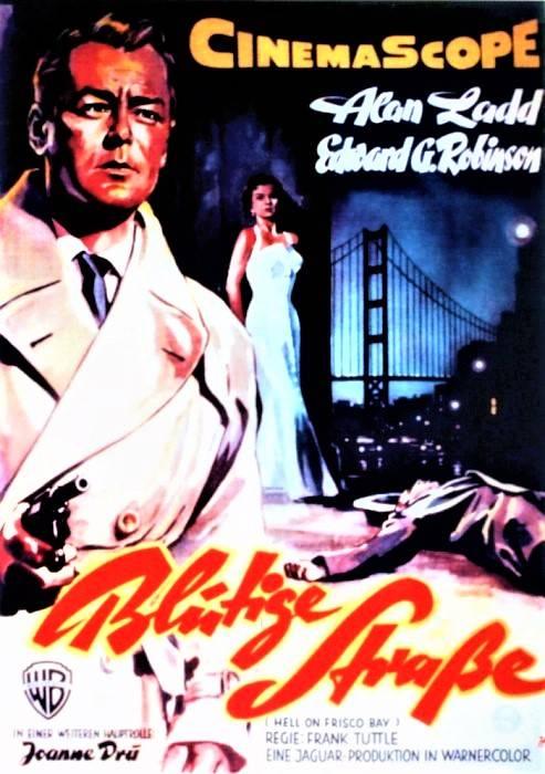 Blutige Straße Krimi/Thriller USA 1955 Deutsch