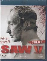 Saw 5 - UNRATED Fassung - Blu-Ray - NEU/OVP