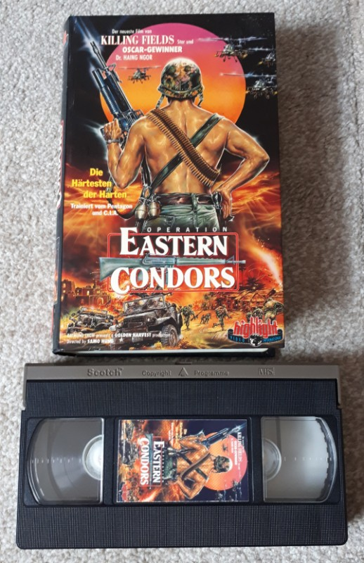 OPERATION  EASTERN CONDORS - VHS