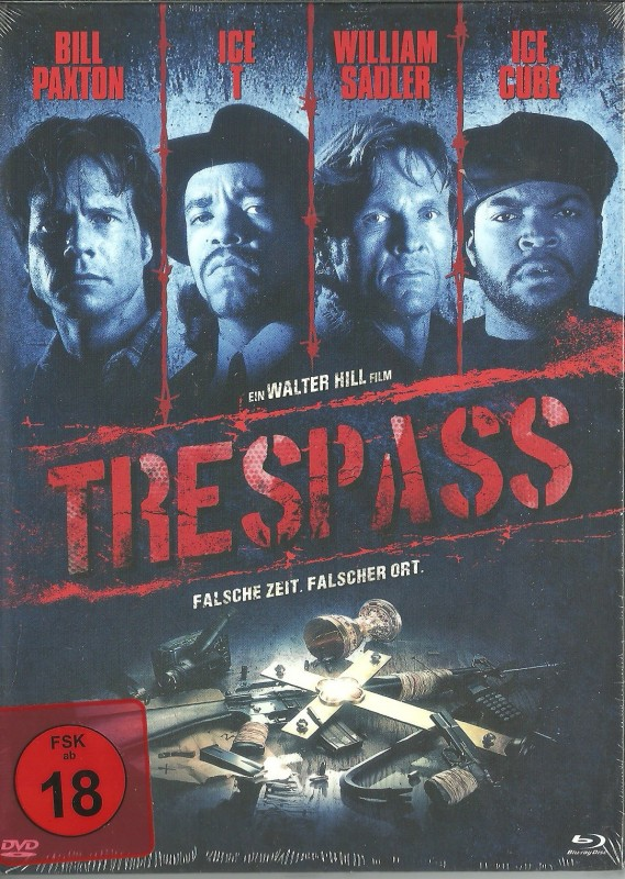 TRESPASS - Mediabook - OVP