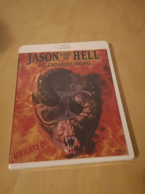 Jason goes to Hell die Endabrechnung Unrated Blu Ray RareOVP
