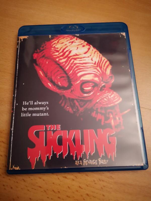 The Suckling Blu Ray Rare Selten OVP