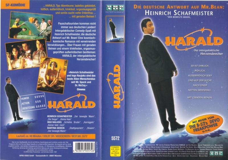 Harald VHS Sehr Rar