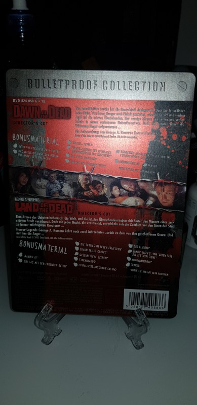 Stellebook Dawn of the dead und land of the dead uncut