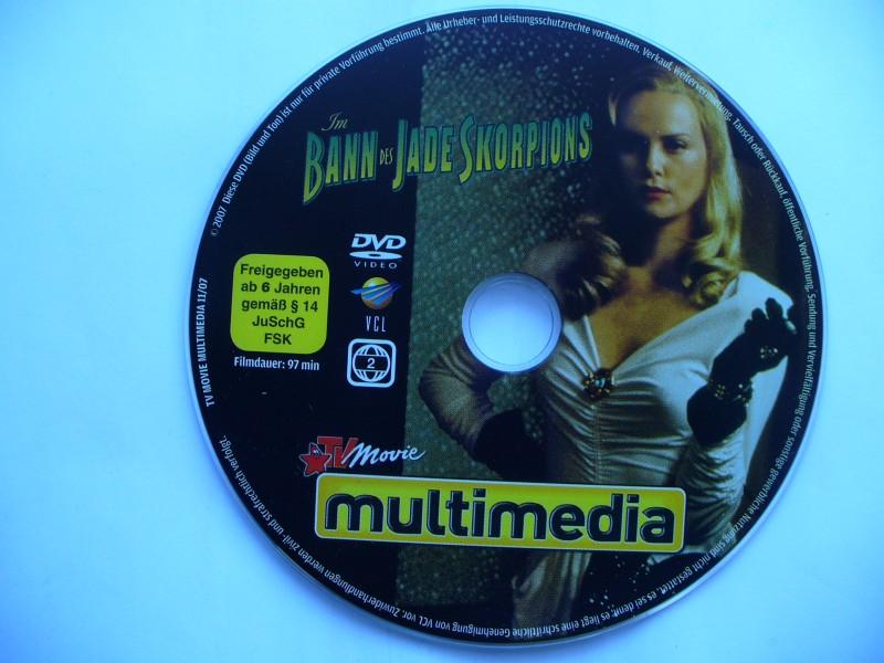 Im Bann des Jade Skorpions  ...  DVD ohne Cover !