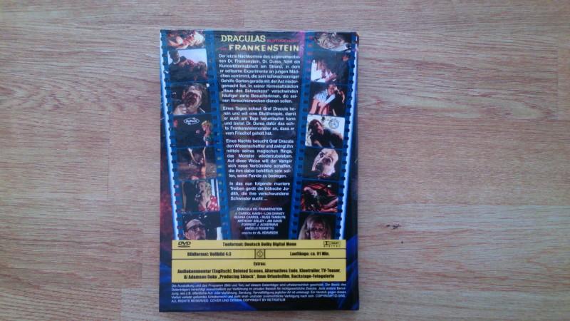 Draculas Bluthochzeit mit Frankenstein(Kl.Hartbox/Cover B)