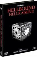 Hellraiser 2 BR & DVD num. geprägt MEDIABOOK UNRATED wieNEU