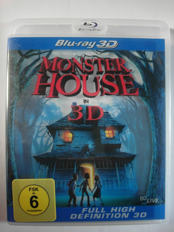Monster House 3D - Animation, Trickfilm, Kinderfilm - Kenan