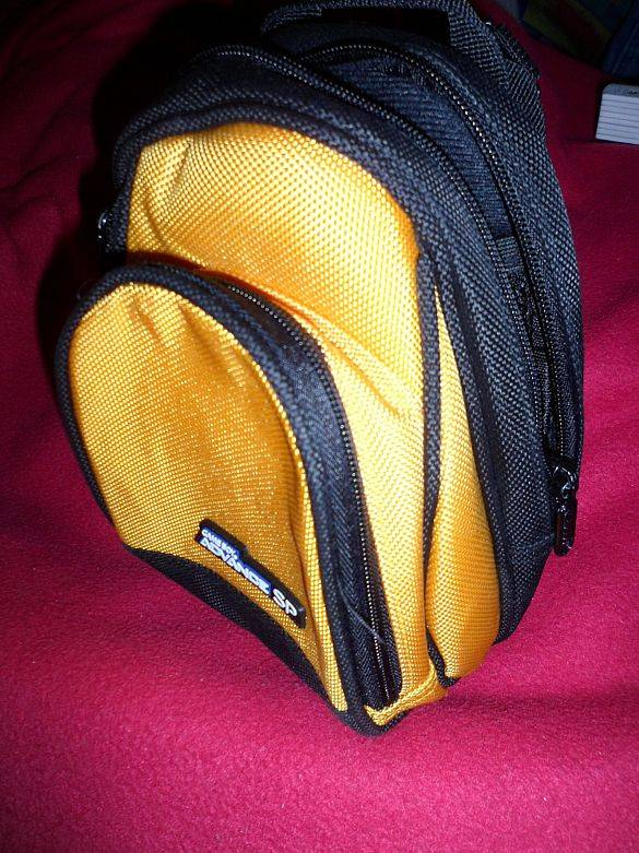 Nintendo Tasche Hülle Minirucksack für Nintendo 3DS Gelb