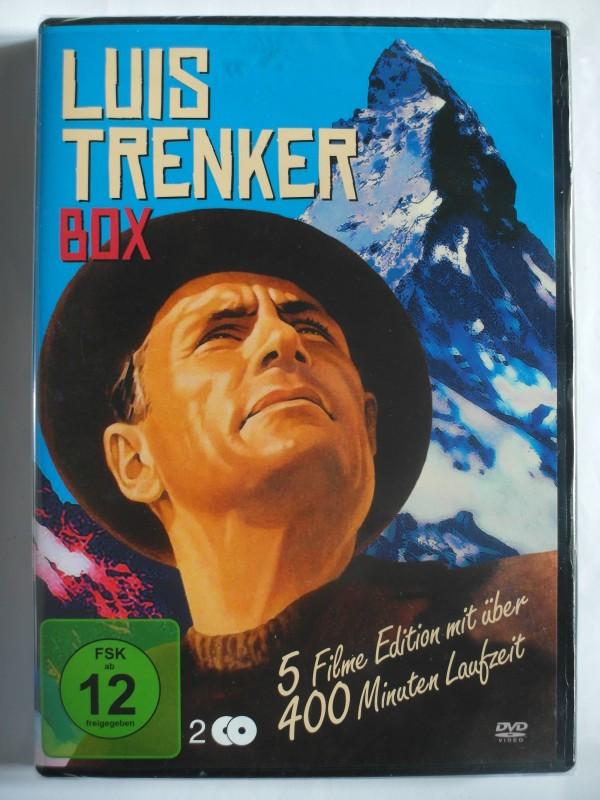 Luis Trenker Box 5 Filme Sammlung Engadin + verlorene Sohn