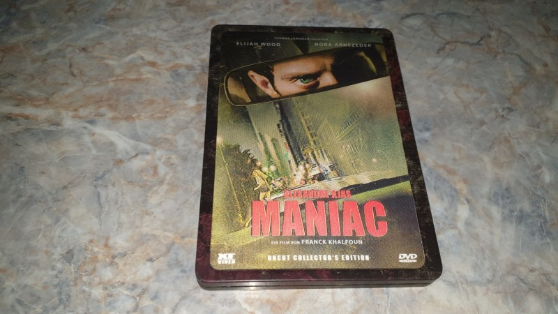 ** MANIAC (REMAKE) / XT-Holo Steelbook **