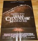 Texas Chainsaw Massacre A1 Videothekenposter