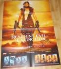Resident Evil: Extinction A1 Videothekenposter