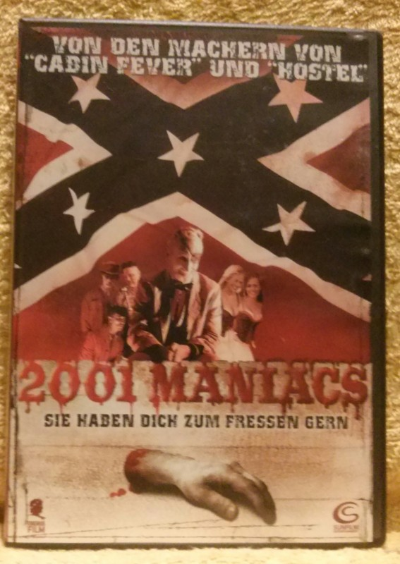 2001 MANIACS Dvd Uncut Robert Englund