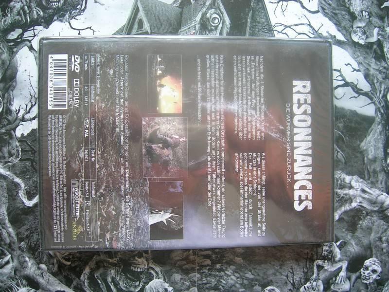 RESONNANCES DIE WÜRMER SIND ZURÜCK ANOLIS DVD NEU OVP