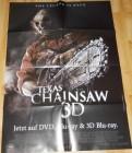 Texas Chainsaw 3D A1 Videothekenposter