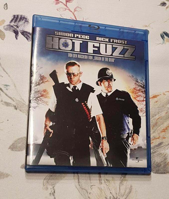 Hot Fuzz - Blu-Ray - uncut  👍🏼