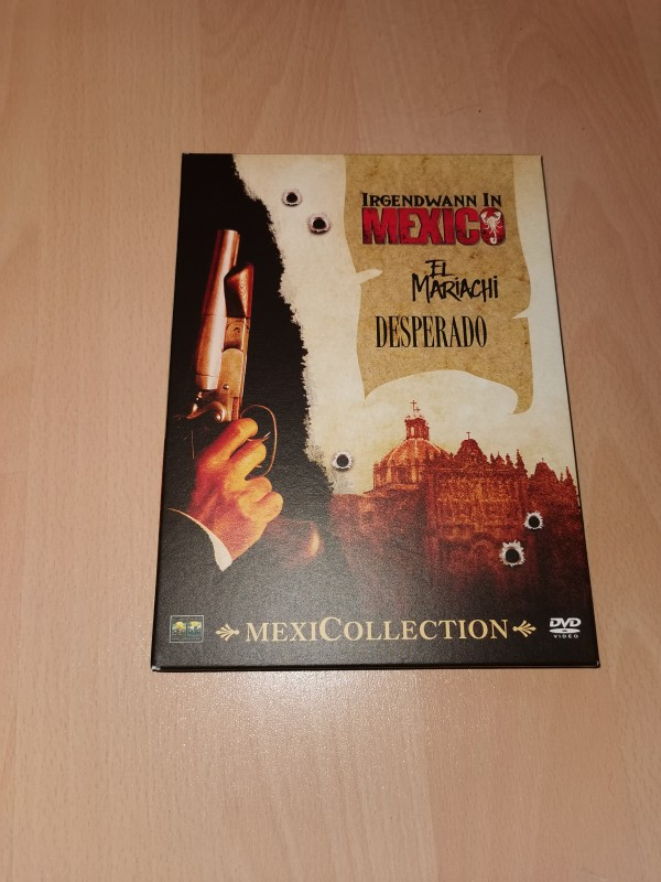 Mexicollection DVD Uncut Box