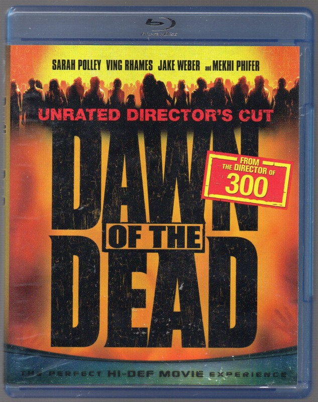 Zack Snyder - DAWN OF THE DEAD - Bluray