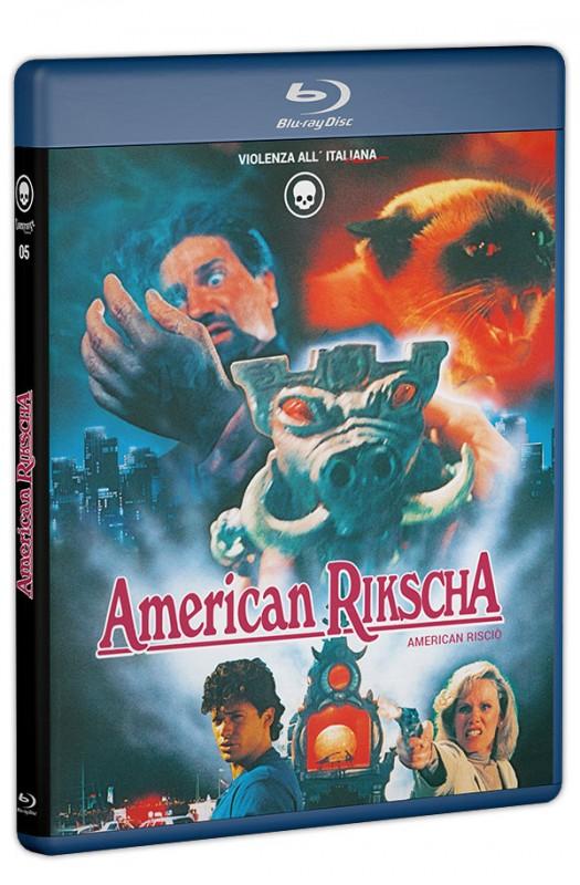 AMERICAN RIKSCHA Amaray BD Cinestrange Extreme Wendecover