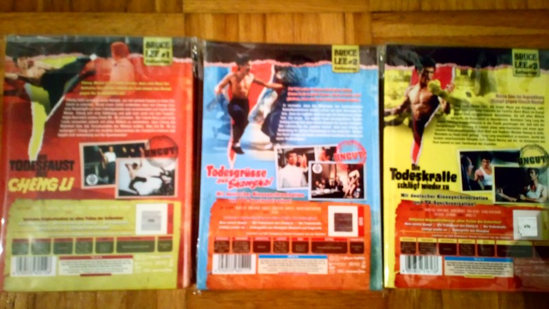 Bruce Lee Mediabooks