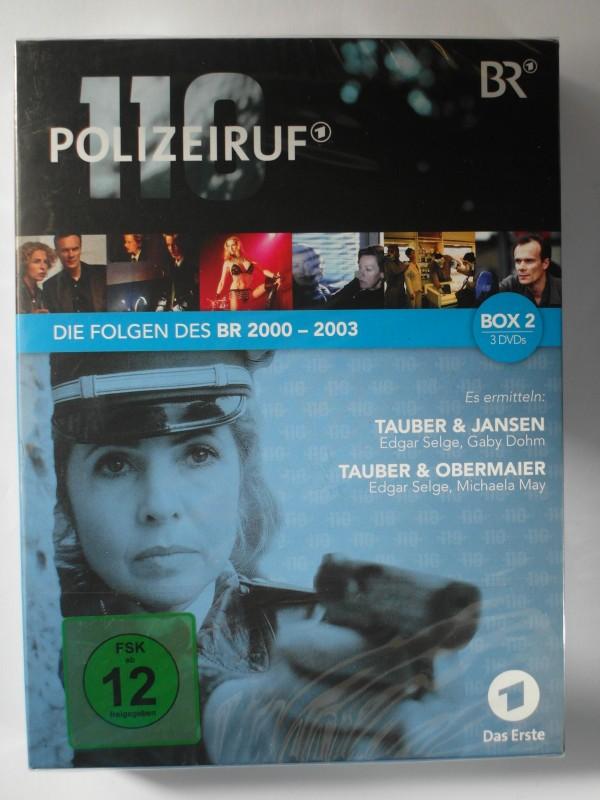 Polizeiruf 110 - Folgen des BR 2000-2003, 6 Filme Sammlung