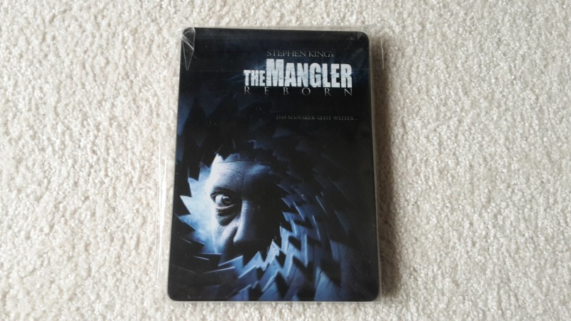 The mangler reborn Steelbook