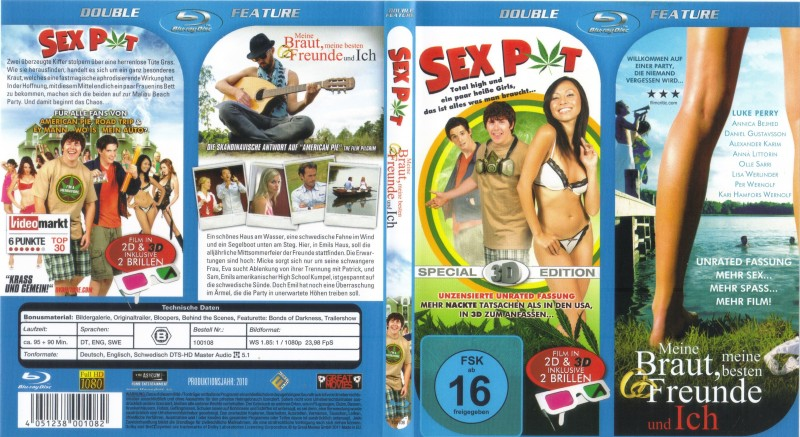 Doppel Feature: Sex Pot 3D / Meine Braut, meine besten Freun