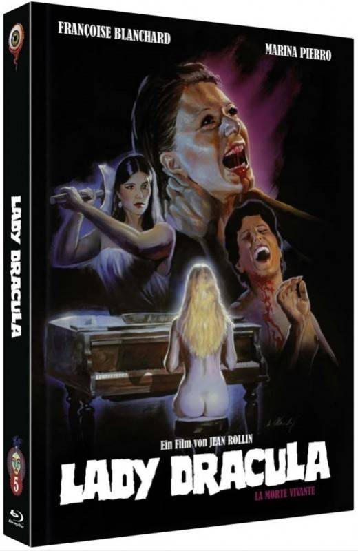 Lady Dracula * Limited Mediabook B - Jean Rollin Collection