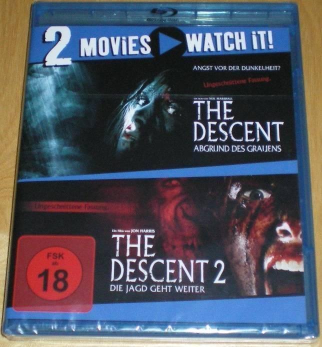 The Descent 1 & 2 Blu-ray Neu & OVP