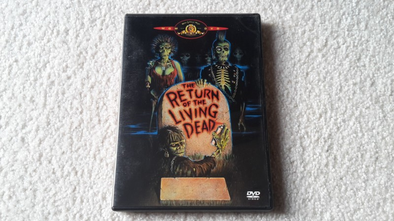 Return of the living dead uncut DVD
