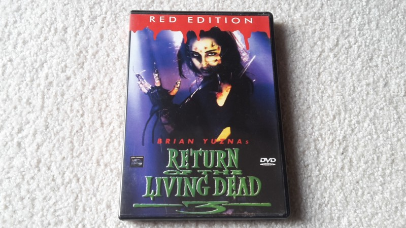 Return of the living dead 3 uncut DVD