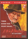"""Nightmare On Elmstreet 3 + 4"" DVD"