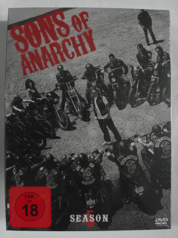 Sons of Anarchy - Season 5 - Biker Gang, Charlie Hunnam