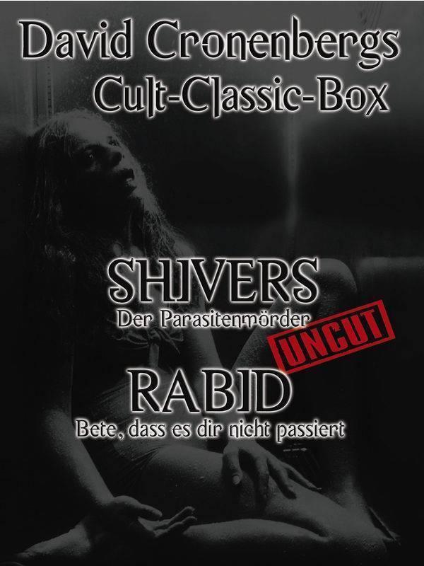 Rabid + Shivers - Double Feature (deutsch/uncut) NEU+OVP