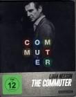 THE COMMUTER Blu-ray STEELBOOK Liam Neeson Action Thriller