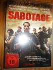 Sabotage, Schwarzenegger, uncut, deutsch,DVD