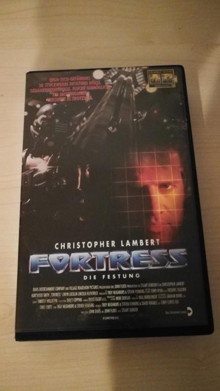 VHS - Fortress - Die Festung